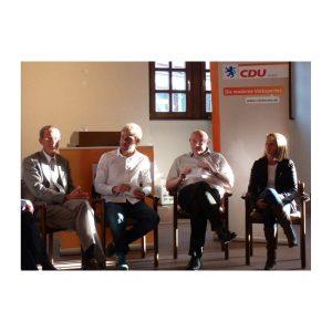 Podiumsdiskussion  CDU