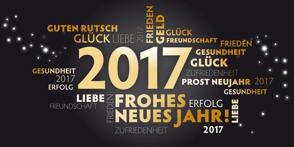 Frohes neues Jahr 2017 | BeKuDe - Bestattungen im Ried